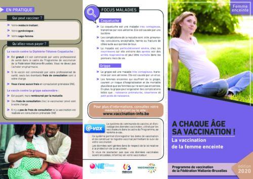 Vaccination femme enceinte